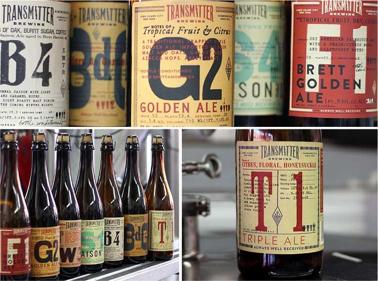 transmitter beer bottles